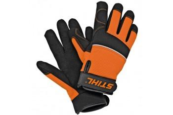 Рабочие перчатки  CARVER - Резиновая манжета на липучке, Перчатки