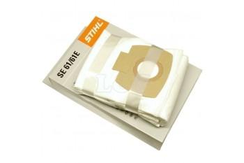 Фильтровальные мешки STIHL для SE 61, 61Е, 62, 62Е (5 штук), Пылесосы для сухой и влажной уборки