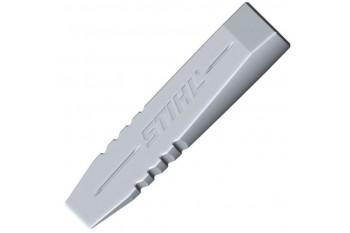 Клин алюминиевый STIHL для валки и раскалывания, 800 г, Серп, скобель и клинья