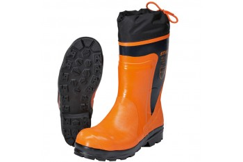 Сапоги резиновые с металлическим носком STIHL Economy, размер 46, Рабочая обувь