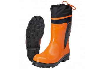 Сапоги резиновые с металлическим носком STIHL Economy, размер 44, Рабочая обувь