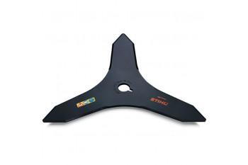 Нож для зарослей STIHL Ø 300 мм - 3 лепестка для FS 260 - FS 450, Металлические режущие ножи